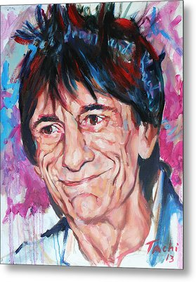 Ronnie Metal Print by Tachi Pintor