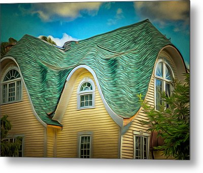 Roof - For Some Reason Metal Print by MJ Olsen