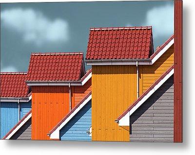 Roofs Metal Print
