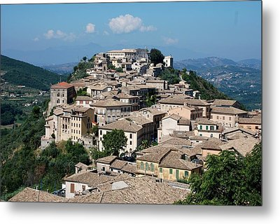 Metal Print featuring the photograph Rooftops Of The Italian City by Dany Lison
