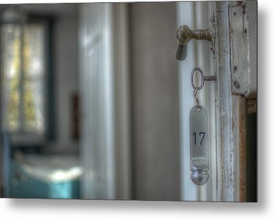 Room 17 Metal Print by Nathan Wright