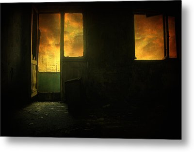 Room 9  Metal Print by Taylan Apukovska