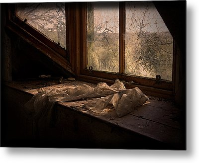 Room With A View Metal Print by Liz  Alderdice