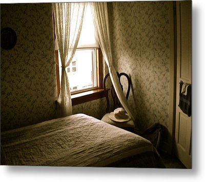 Metal Print featuring the photograph Room301 Irish Inn by Joan Reese