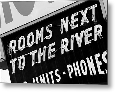 Rooms Next To The River Metal Print by Daniel Woodrum