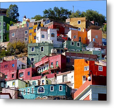 Rooms With Views Metal Print by Douglas J Fisher