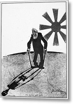 Roosevelt Cartoon, 1941 Metal Print by Granger