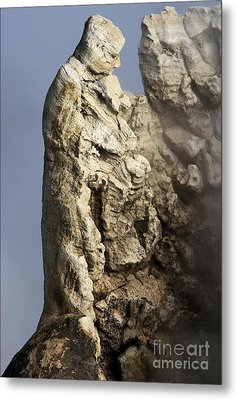 Roosevelt Geyser Metal Print by Adam Jewell