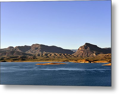Roosevelt Lake Arizona Metal Print by Christine Till