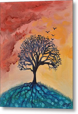 Roots And Wings Metal Print