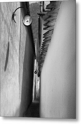 Rope Street-brasov-romania Metal Print by Dorin Stef