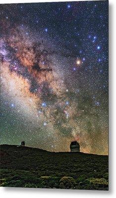 Roque De Los Muchachos Observatory Metal Print by Babak Tafreshi
