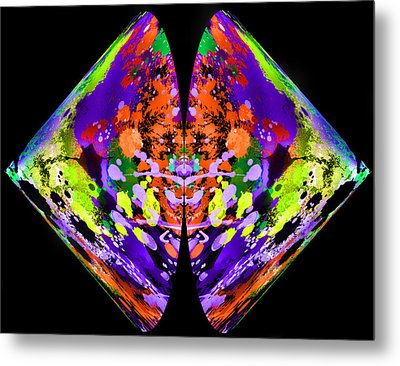 Rorschach  On Steroids  Metal Print
