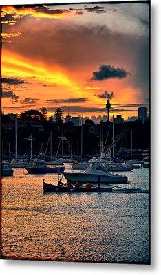 Rose Bay Marina Metal Print by Andrei SKY