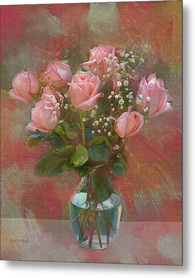 Rose Bouquet Metal Print