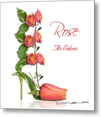 Rose Flos Calceus Metal Print by Blanchette Photography
