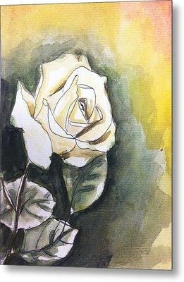 Rose Metal Print by Hae Kim