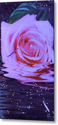 Rose Resurrection Metal Print