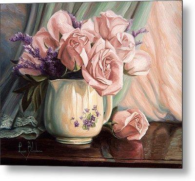 Rose Roses Metal Print by Lucie Bilodeau