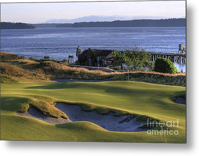 Hole 17 Hdr Metal Print by Chris Anderson