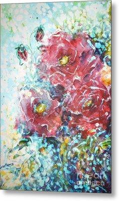 Rose Summer Delight Metal Print