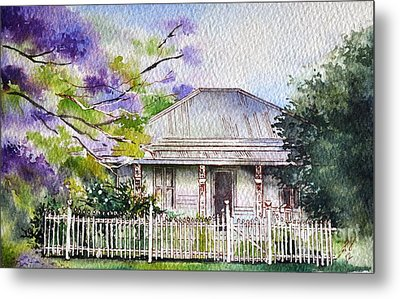 Roseabellas House Bellingen Metal Print by Sandra Phryce-Jones