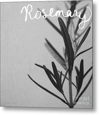 Rosemary Metal Print by Linda Woods