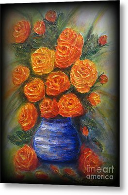 Roses For You Metal Print by Elena  Constantinescu