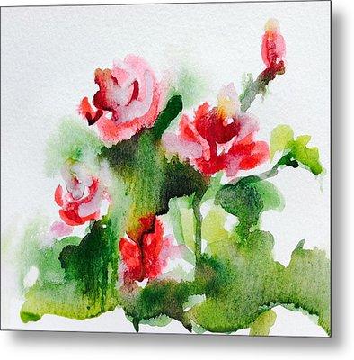 Roses Garden 3 Metal Print