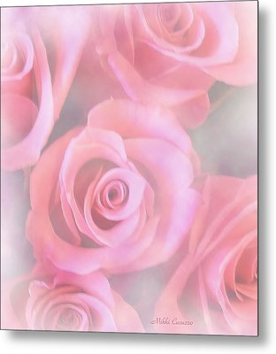 Roses Metal Print by Mikki Cucuzzo