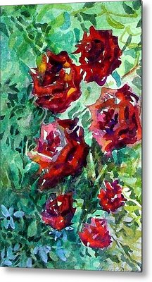 Roses Metal Print by Mindy Newman