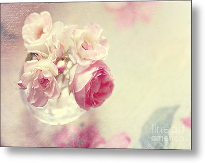 Roses Metal Print by Sylvia Cook