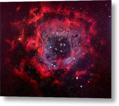 Rosetta Nebula Metal Print by Marie Green