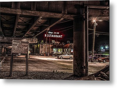 Ross' Restaurant Metal Print by Ray Congrove