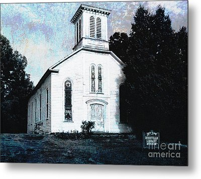 Rossville Church And Cemetery Metal Print