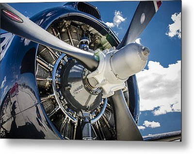 Rotary Engine And Prop Metal Print