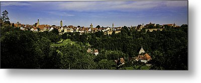 Rothenburg Panorama Metal Print by Joanna Madloch