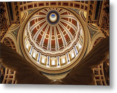 Rotunda Dome On Wings Metal Print by Joseph Skompski