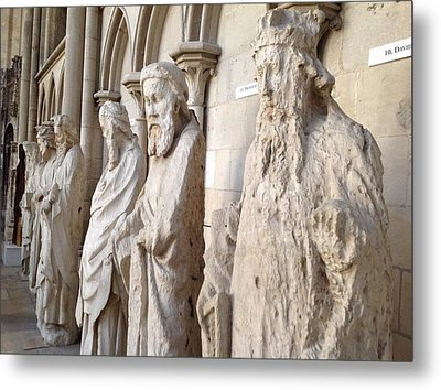 Rouen Cathedral Francel Ireland Metal Print
