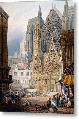 Rouen Cathedral Metal Print
