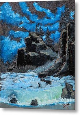 Rough Seas Metal Print by Dave Atkins