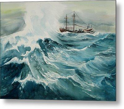 Rough Seas Metal Print