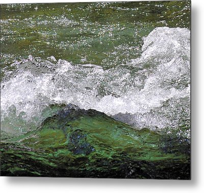 Rough Waters Metal Print by Jessica Tookey