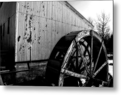 Round And Round Metal Print by Frank Sciberras