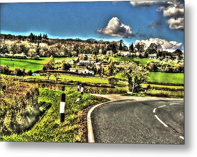 Metal Print featuring the photograph Round The Bend by Doc Braham
