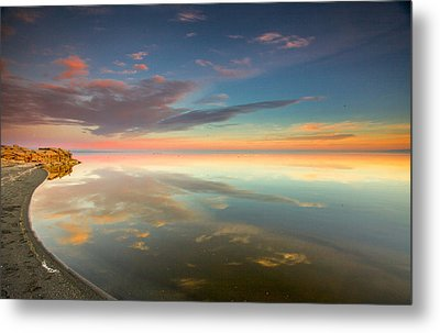 Metal Print featuring the photograph Rounded Reflections by Robert  Aycock
