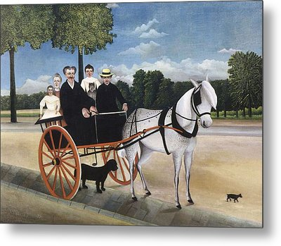 Rousseau, Henri 1844-1910. Old Man Metal Print by Everett