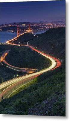 Route 101 Metal Print by Rick Berk