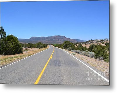 Metal Print featuring the photograph Route 66 In New Mexico by Utopia Concepts