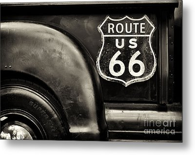 Route 66 Metal Print by Tim Gainey